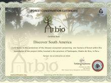 Arbio Certificate